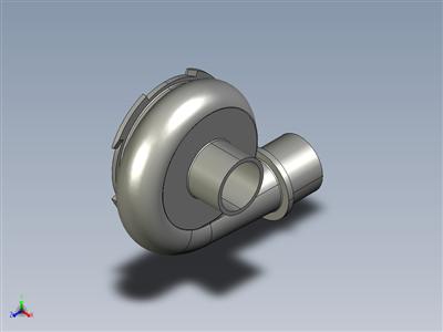 离心泵 (叶轮 & 容积套管)