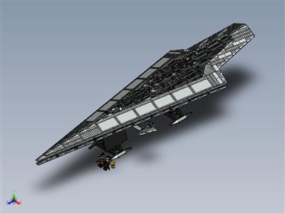 乐高星球大战-UCS 超级明星驱逐舰 (10221)