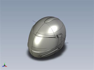 摩托车头盔。