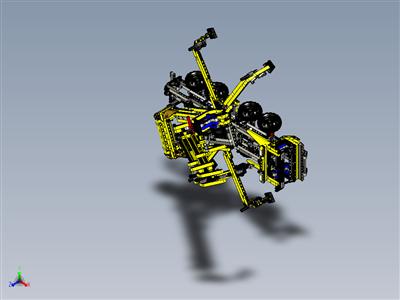 乐高8053移动式起重机