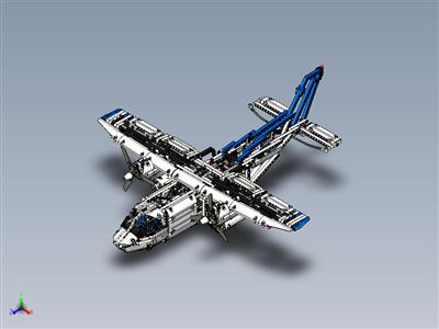 乐高科技-货运飞机 (42025)