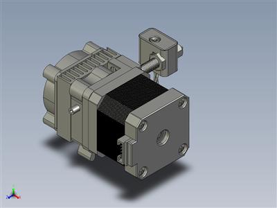 3D 打印机 MK8 挤出机