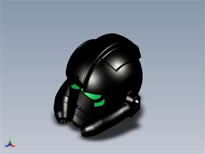 星球大战 TIE 战斗机飞行员的头盔。