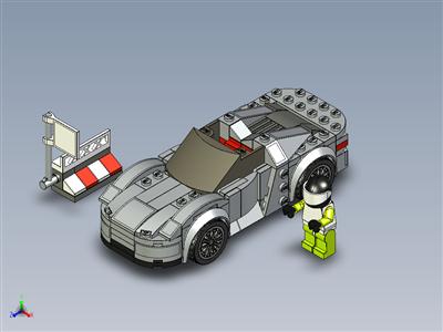 乐高速度冠军-保时捷 918 Spyder (75910)