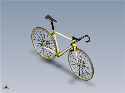 自行车车架-自行车