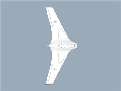 天行者 X8 无人机, 所有 EPO 部件的完全清洁扫描