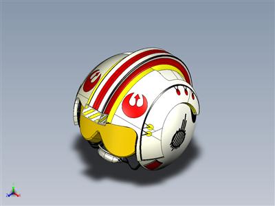 星球大战 起义军 x 翼飞行员头盔