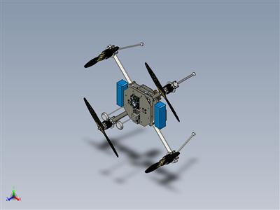 开发人员模块化 X4 四轴飞行器