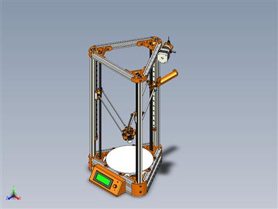 科塞尔3D 打印机