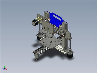便携式 3 轴 3D 打印机CNC 铣床平台设计
