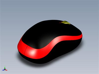 罗技鼠标模型