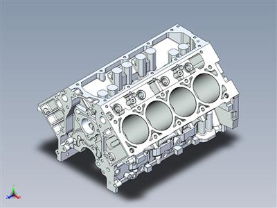 LS3 发动机座