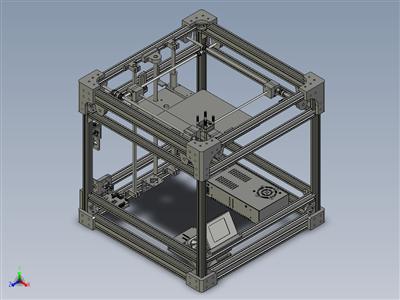 我的第三代3D 打印机