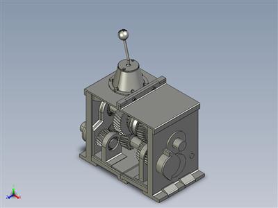 3D 打印同步变速箱