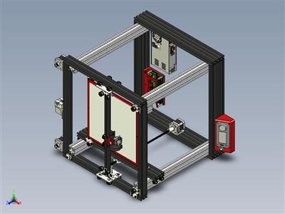H-机器人3D 打印机