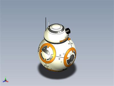 星球大战 部队觉醒 BB-8 机器人