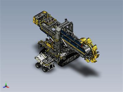 乐高科技-斗轮挖掘机 (42055)