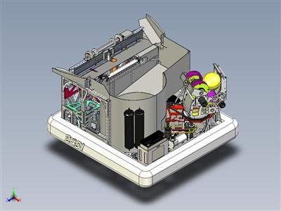 2017 PWNAGE FRC 机器人 CAD