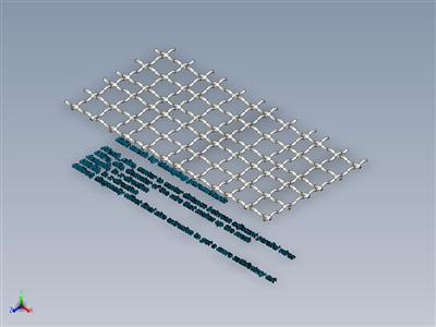 编织丝网发电机