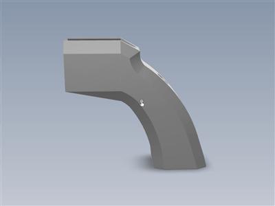 先锋左轮手枪战术(3D打印套件玩具枪)