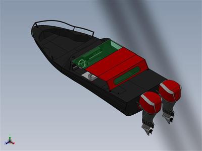 汽艇气垫船