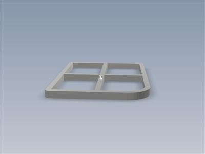 Gameboy零屏幕模板3毫米边框