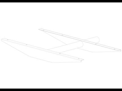 TAKLER TK6755-挡泥板支架