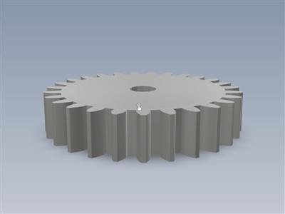 3D 打印机床水平拇指轮
