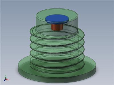 公制连接橡胶减震器