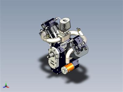 双引擎发动机800cc