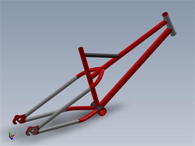 自行车车架