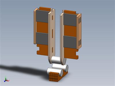 """用于碰撞直径15英寸、1""""方形到3""""宽的制动器延长工具"""