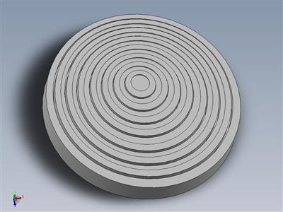 圆形镶嵌切割板