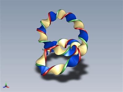 三维螺旋线
