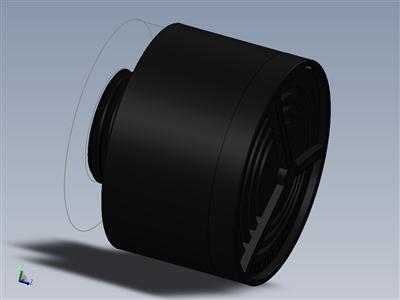 40毫米面罩可再填充过滤器