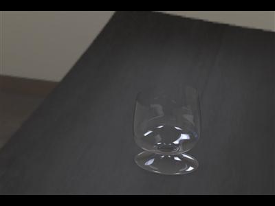 华丽的酒杯