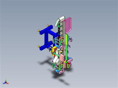贴胶膜机3D