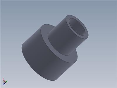 30 mm外螺纹到22 mm内螺纹适配器