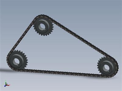链条和链轮机构