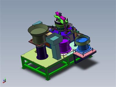 凸轮瓶盖组装机