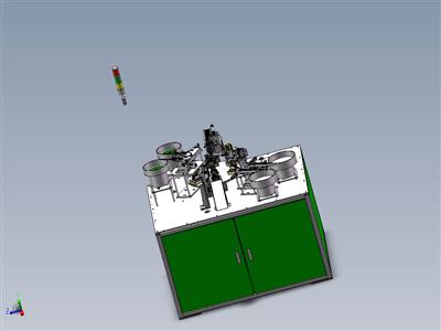 小散热器自动组装机