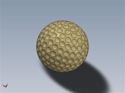 金色高尔夫球