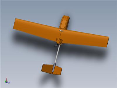 天壁车模型无人机