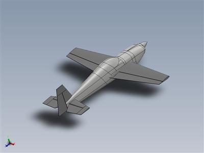 Slick 580 3D特技飞行模型飞机