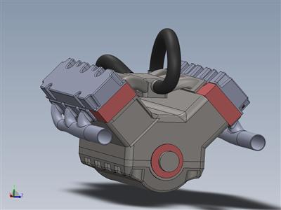 V6汽车发动机