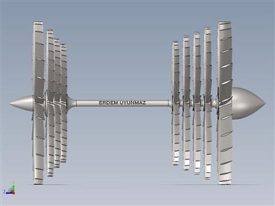 涡轮和叶片设计