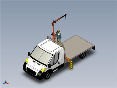 Domocad3d拖车和起重机