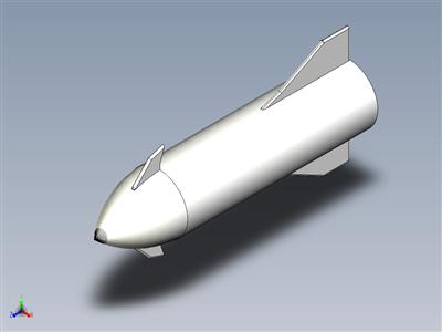 Spacex星际飞船SN3