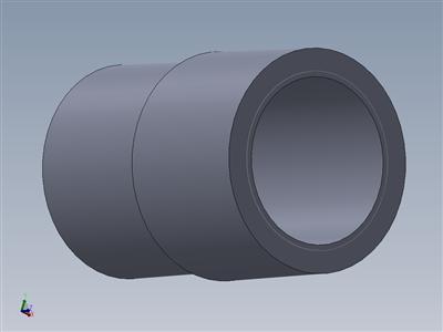 22 mm内螺纹到30 mm外螺纹适配器