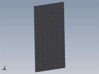 太阳能电池板(半截电池技术)